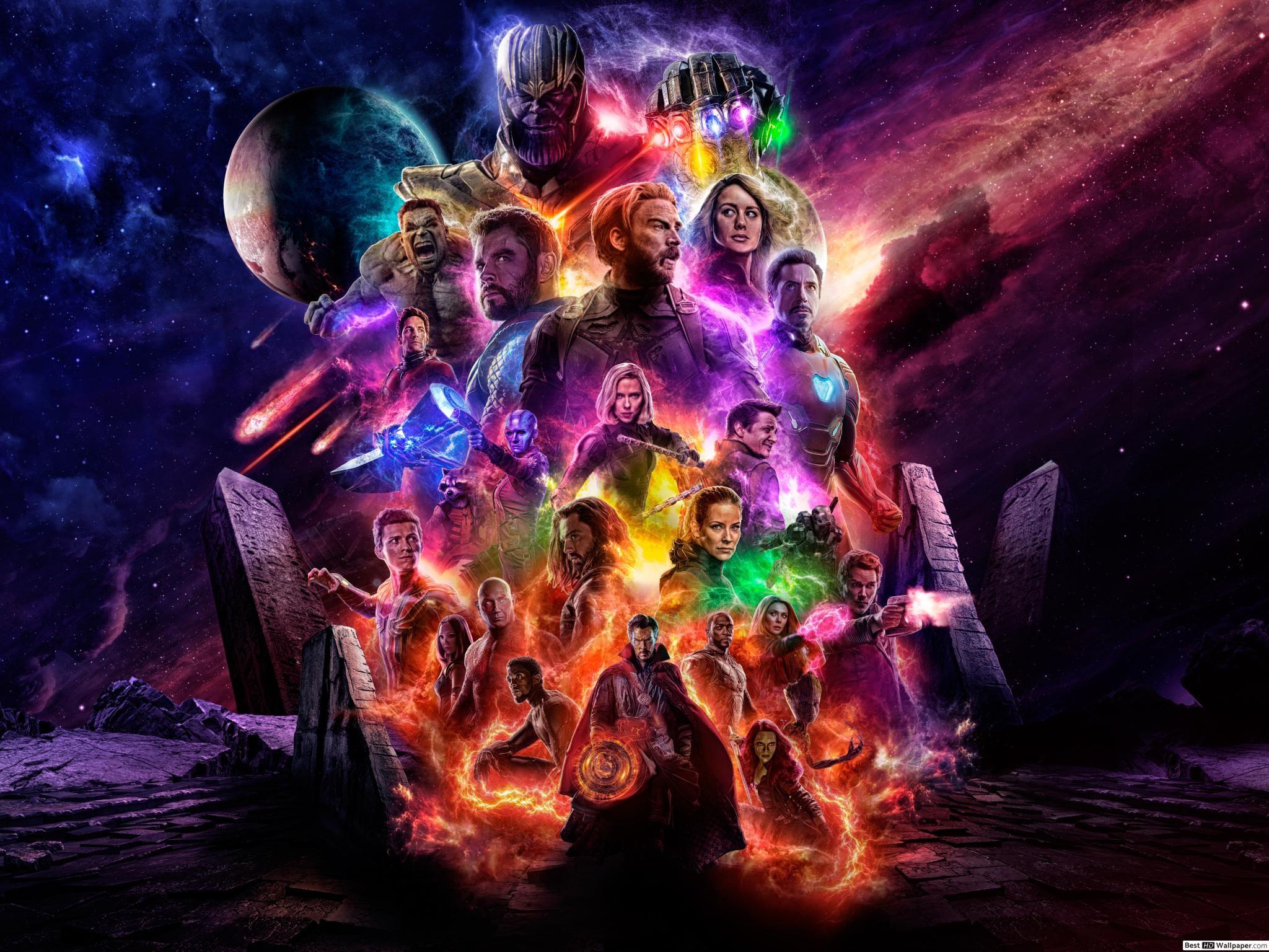 Avengers Endgame 8k resimleri
