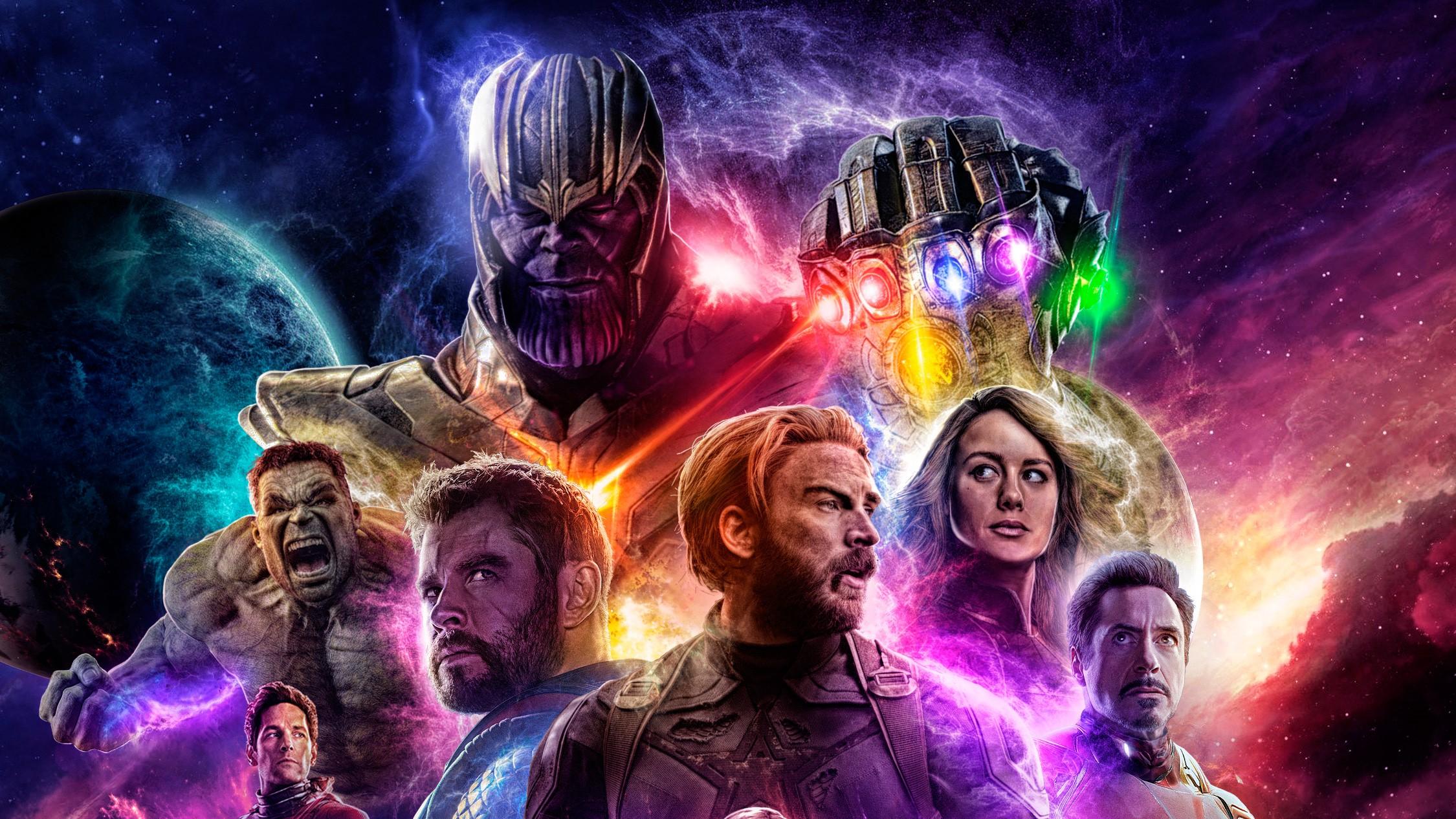 Avengers Endgame fotoları