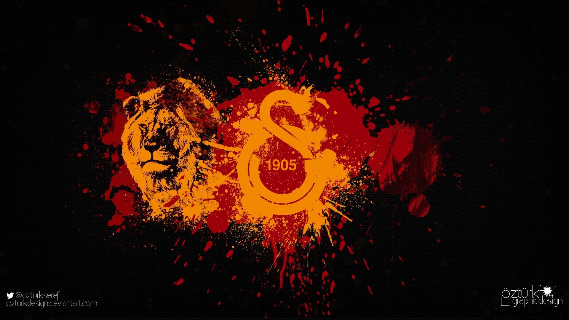 Galatasaray Aslanlı Logo Wallpaper