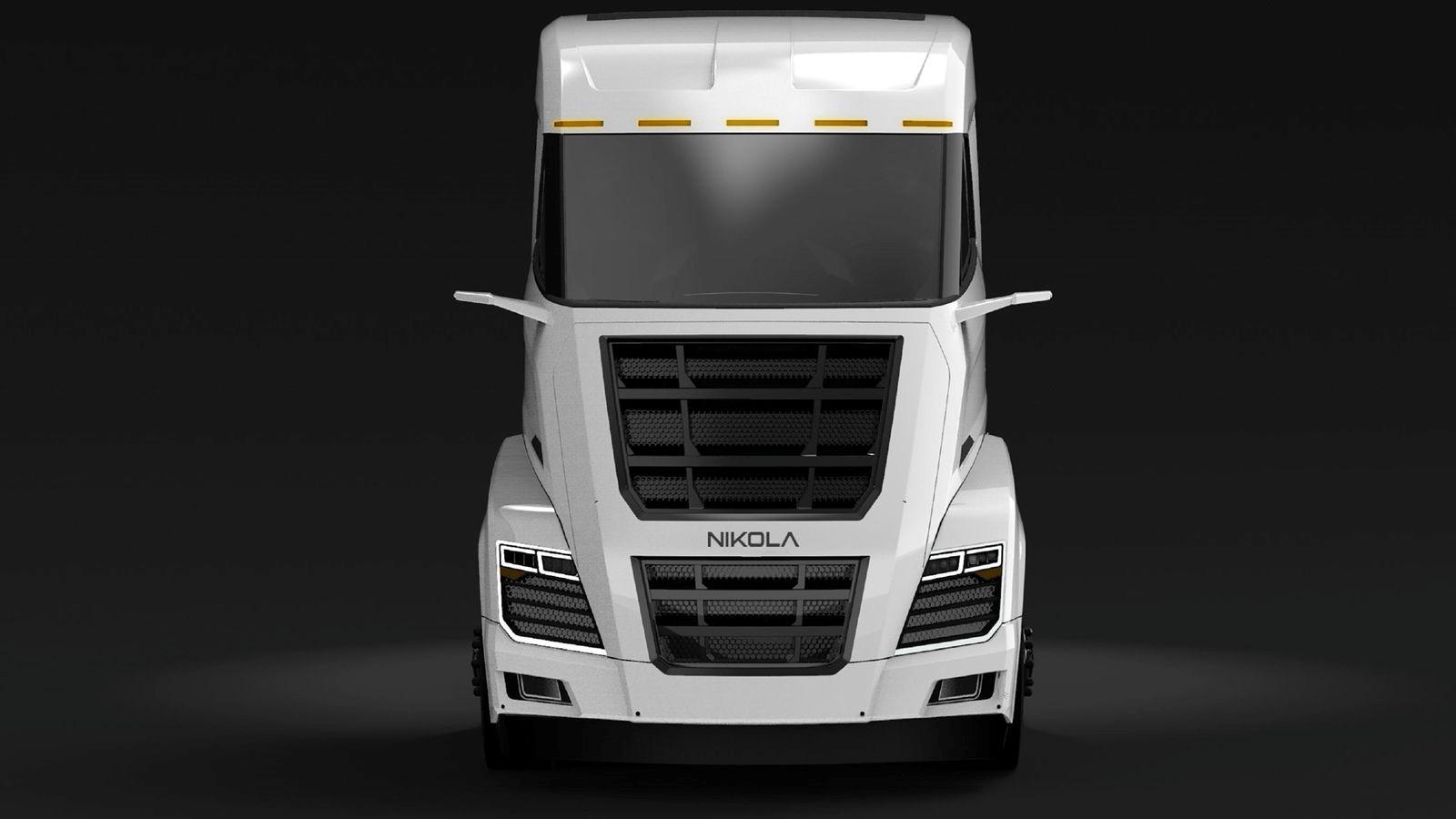 Nikola hybrid truck 2k duvarkağıdı