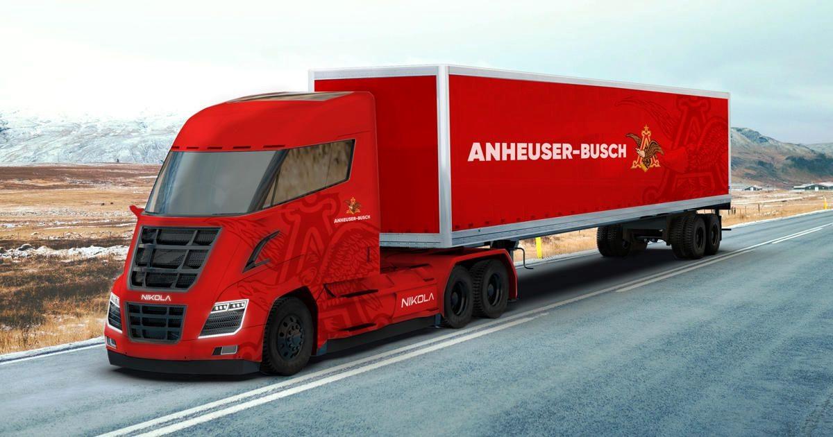 Nikola hybrid truck 2k resmi
