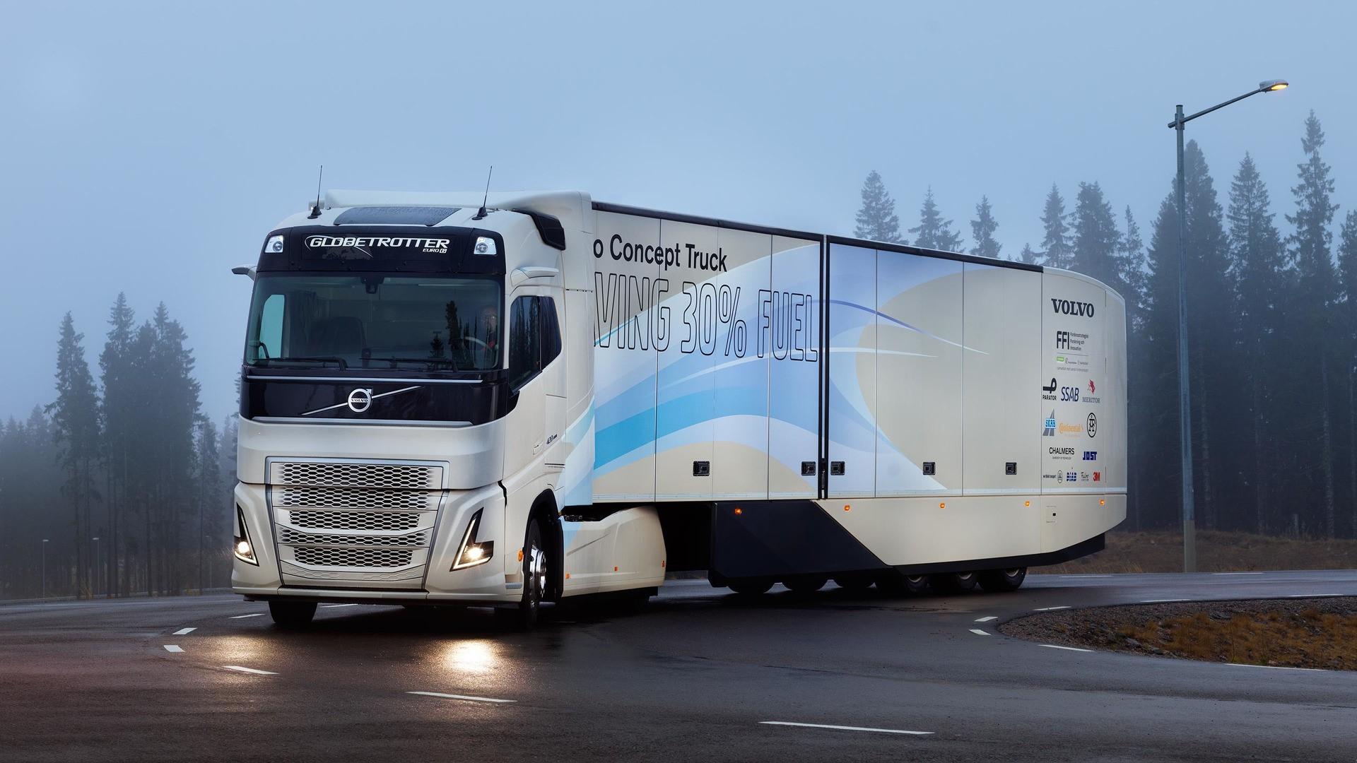 Nikola hybrid truck 4k resmi