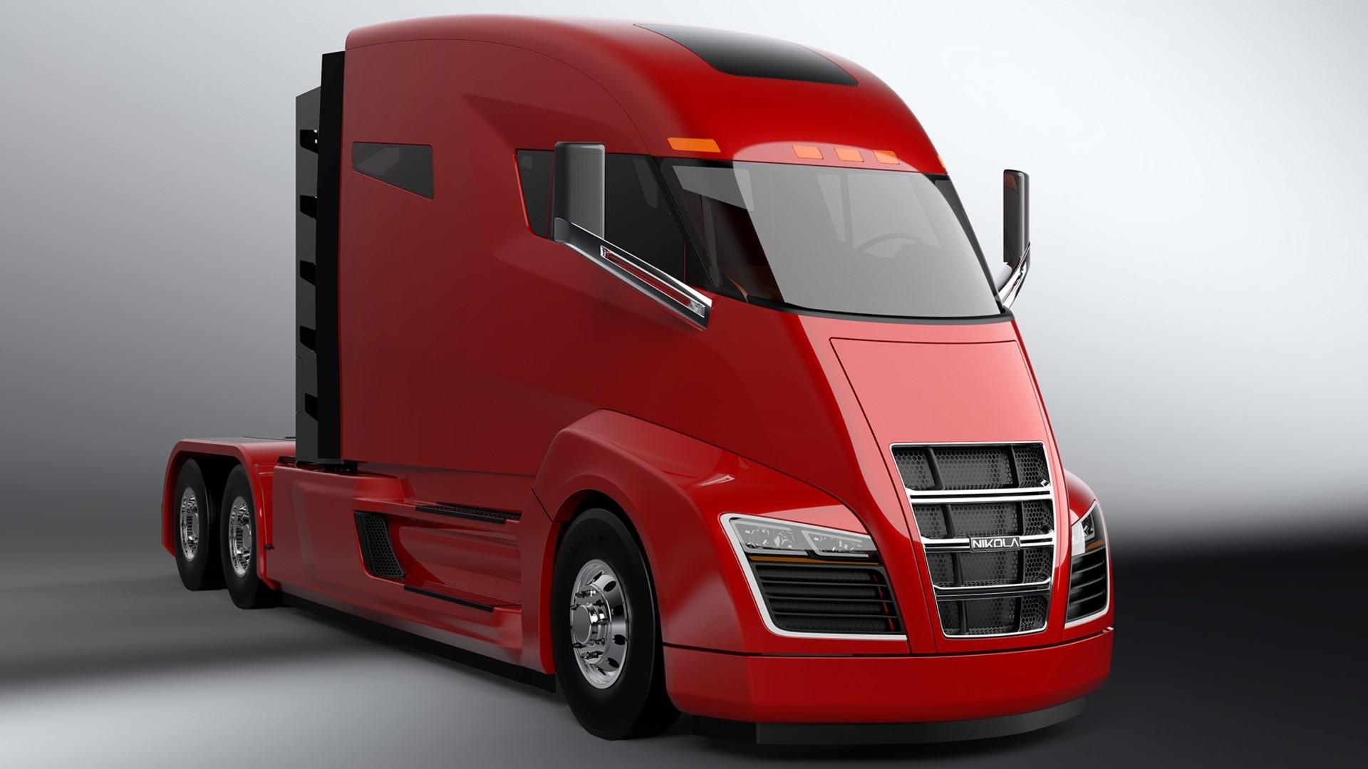 Nikola hybrid truck duvar kağıtları