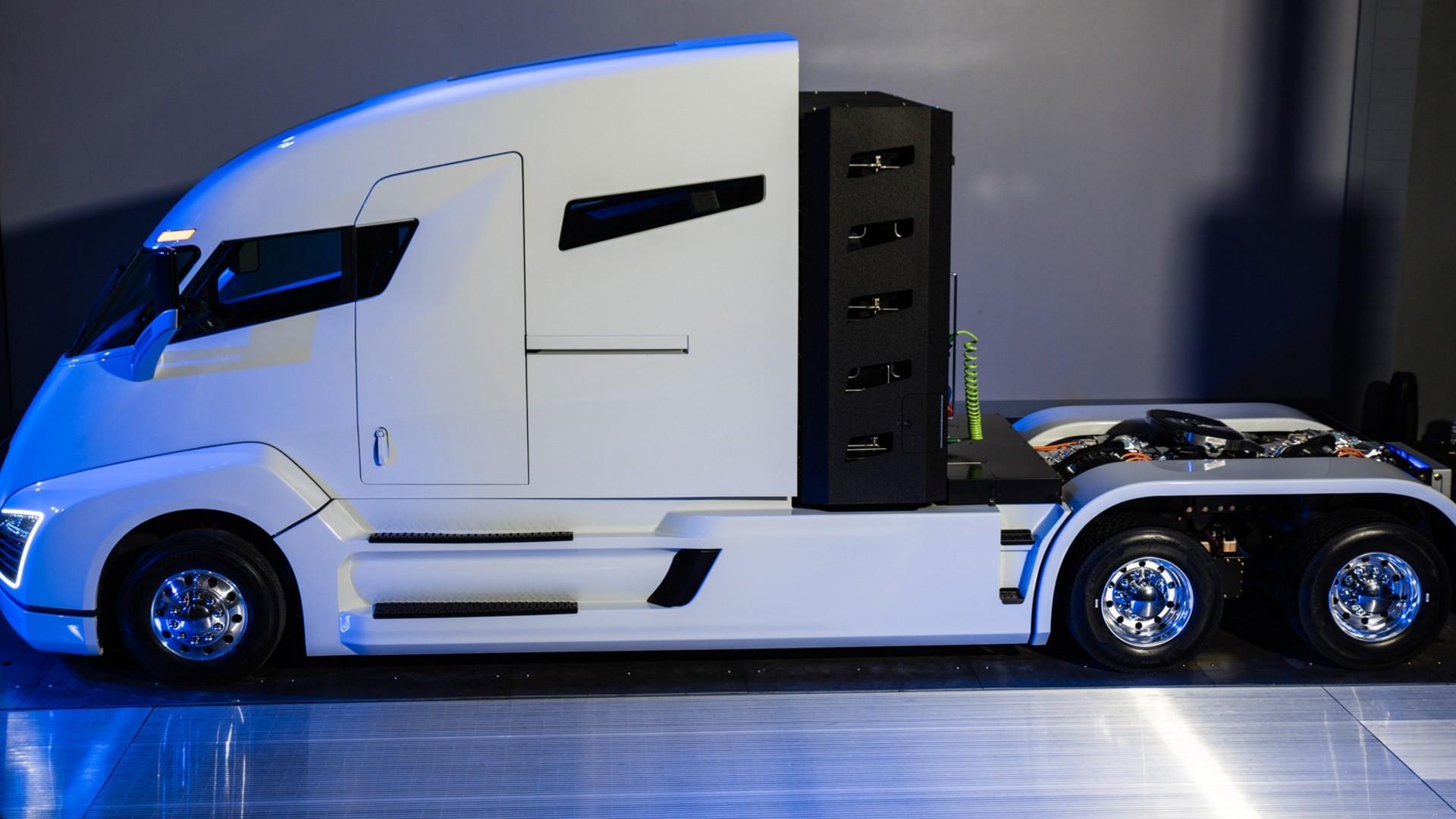 Nikola hybrid truck uhd duvar kağıtları