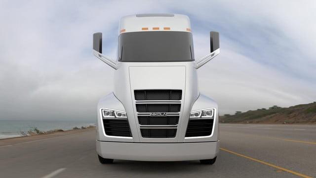 Nikola hybrid truck uhd wallpaper