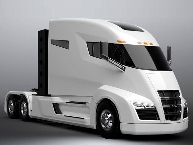 Nikola hybrid truck wallpapers