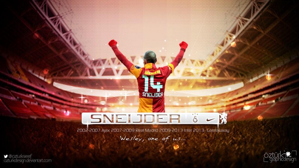 Sneijder Galatasaray Wallpaper