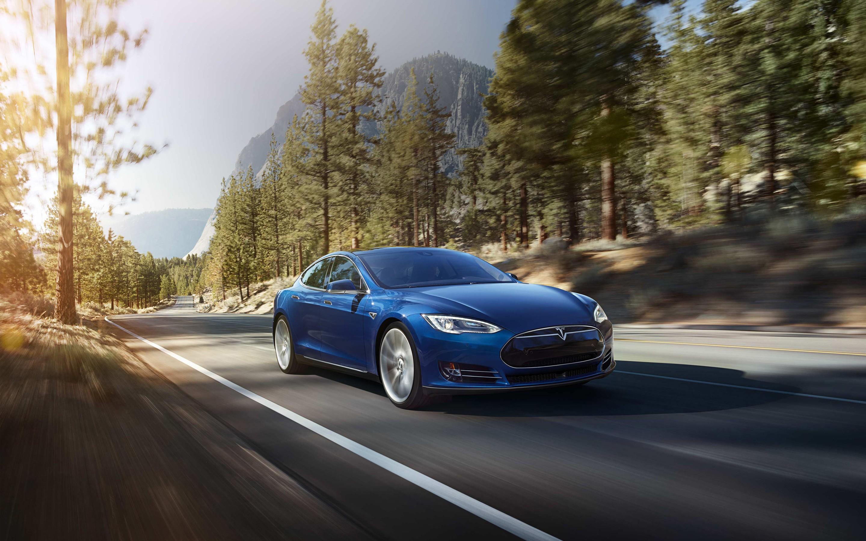 Tesla model wallpaper