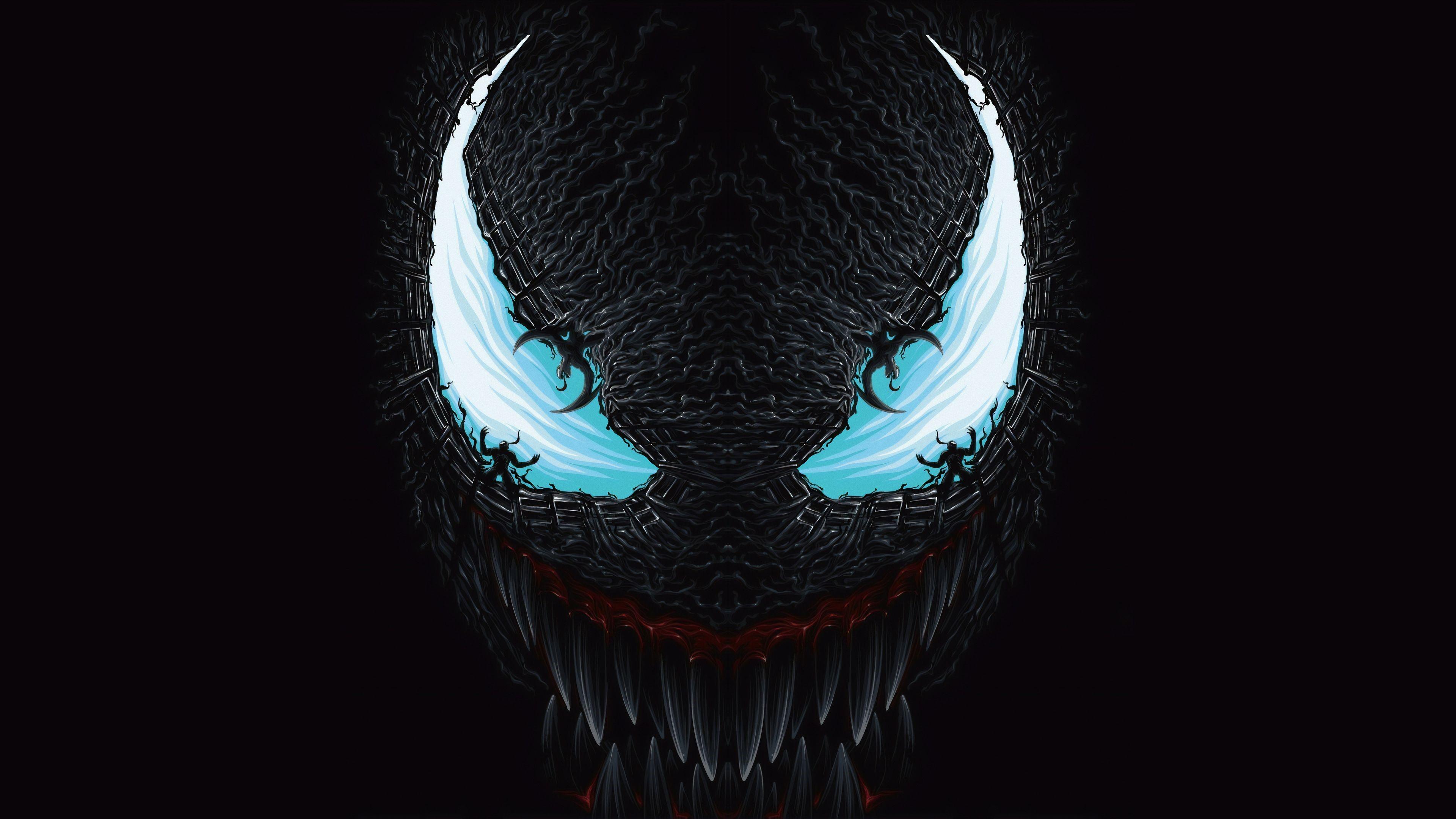 Venom 8k wallpaper