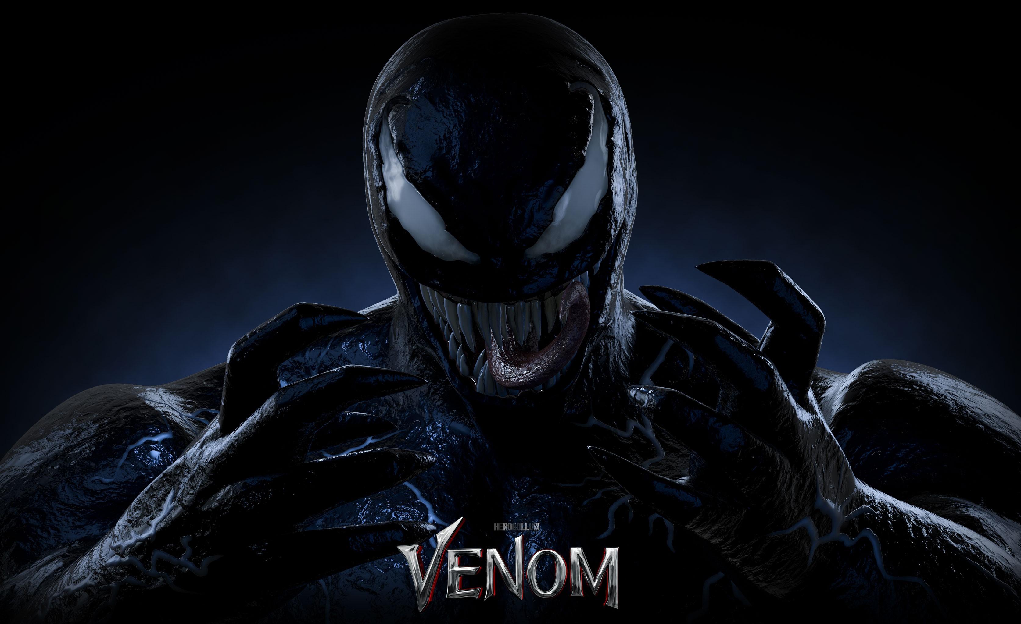 Venom hd poster