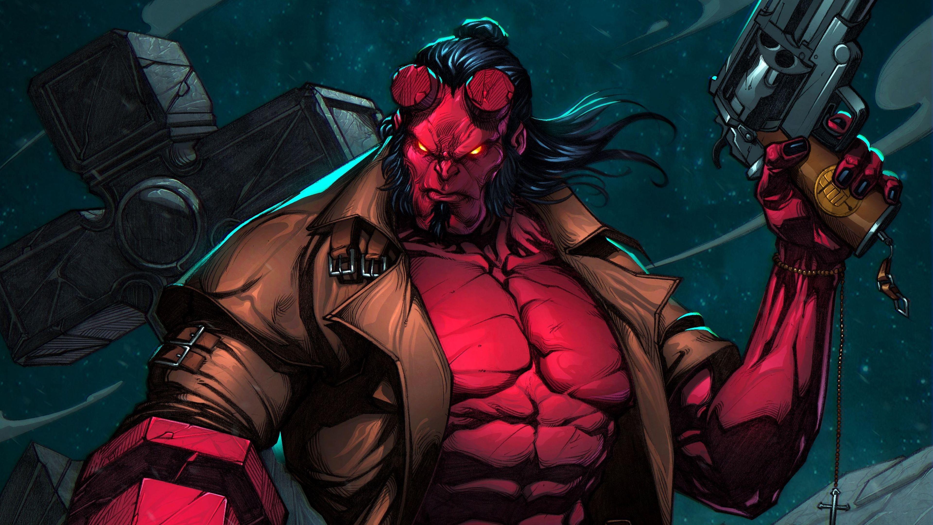 hellboy hd resimleri