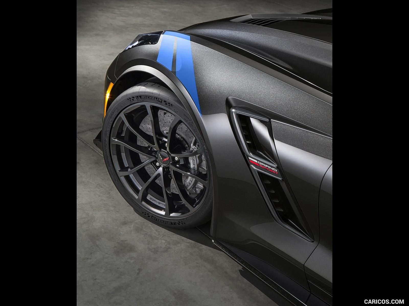 2017 Chevrolet Corvette Grand Sport black