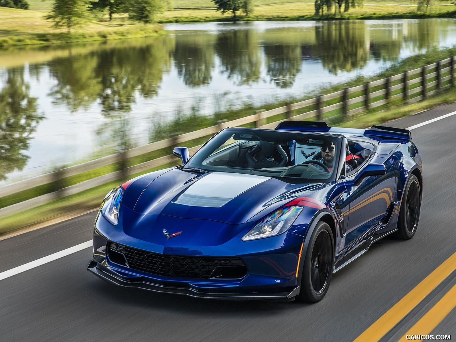 2017 Chevrolet Corvette Grand Sport blue