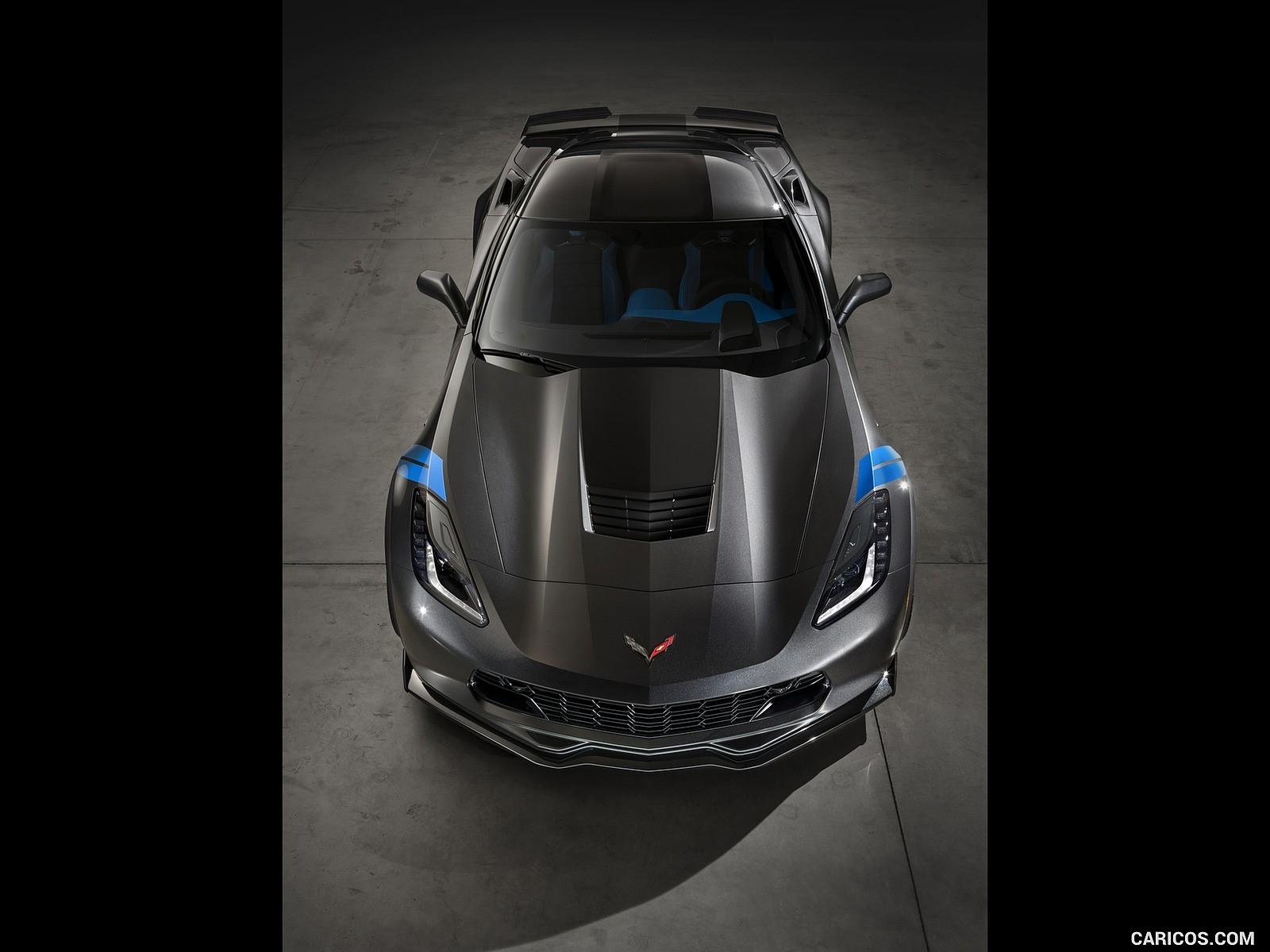 2017 Chevrolet Corvette Grand Sport resimleri