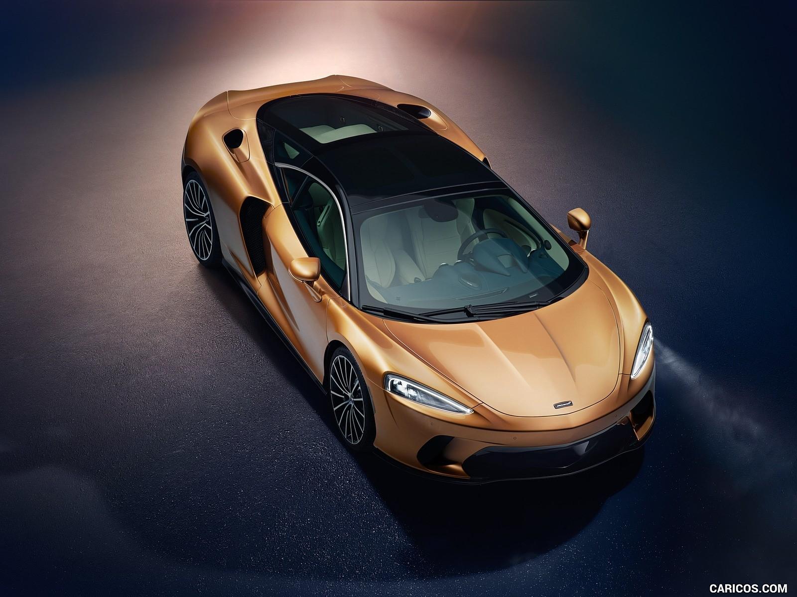 McLaren GT fotoğrafları