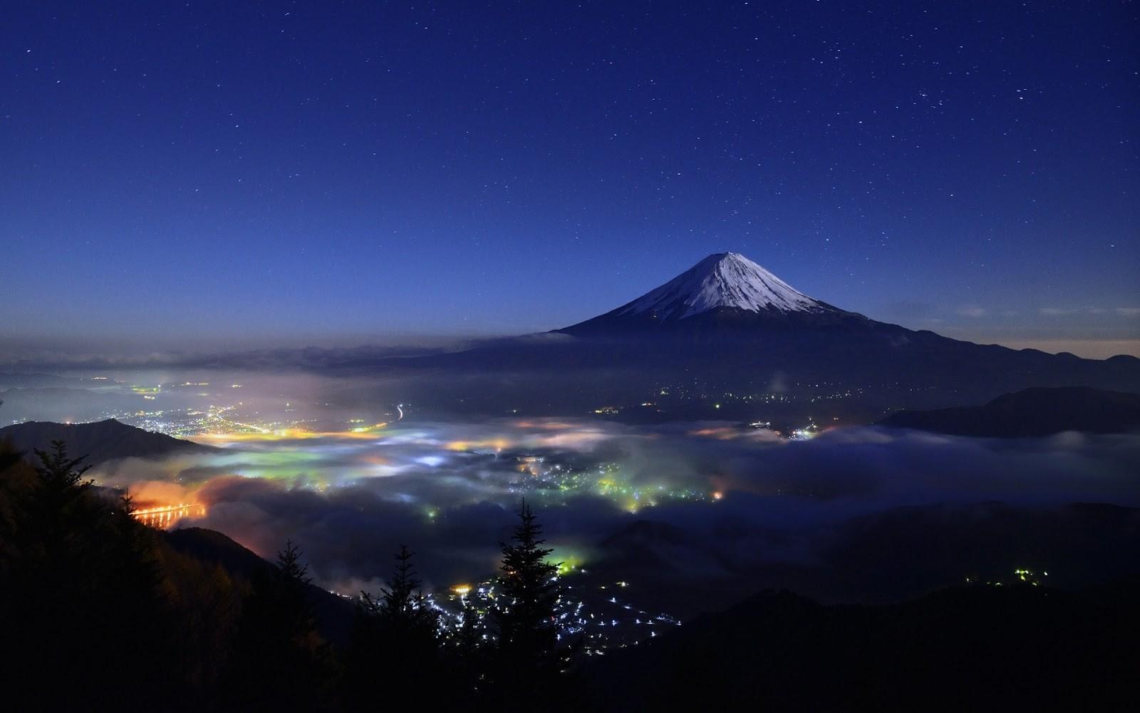 Fuji Dağı Duvarkağıdı