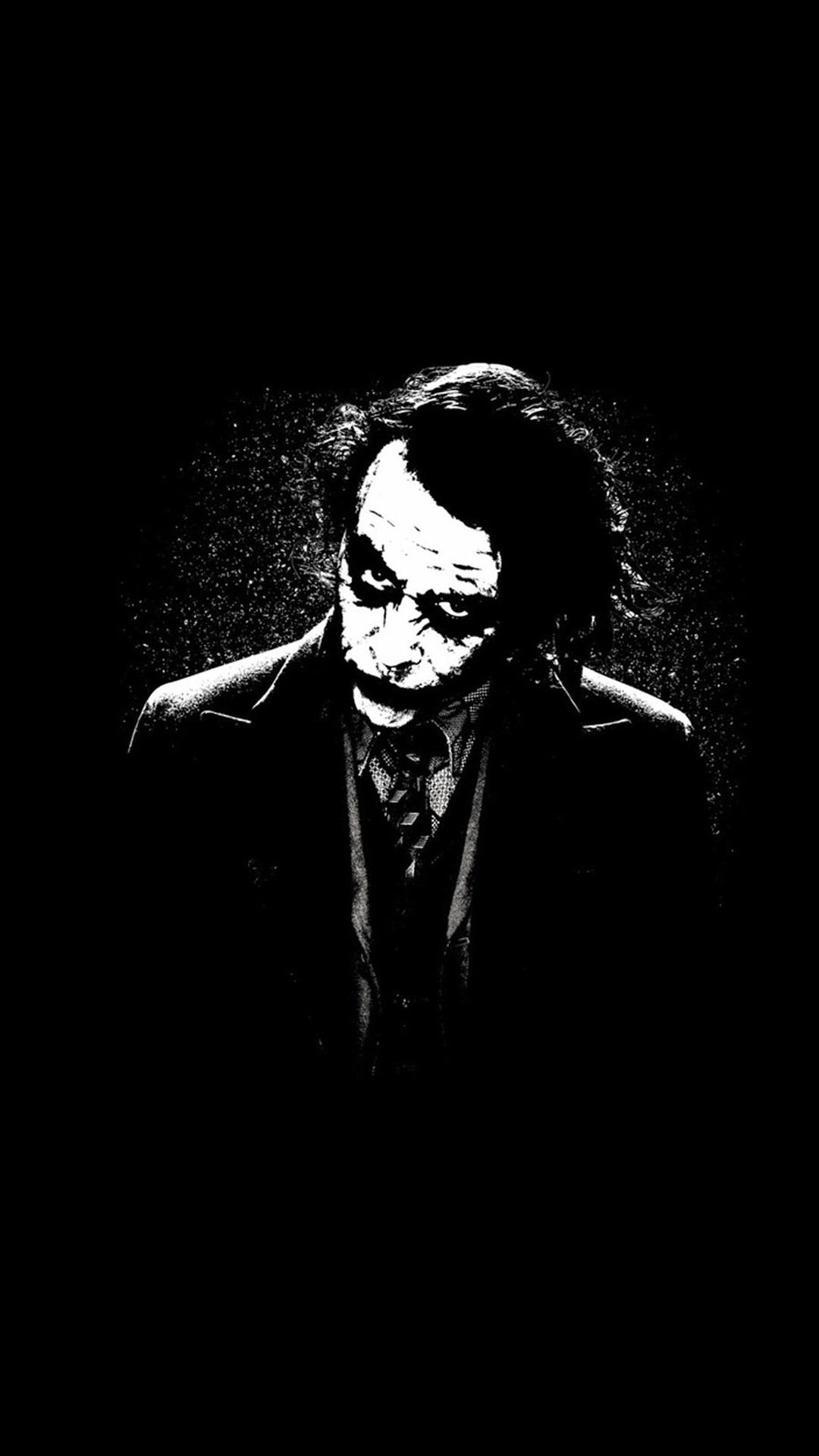 Joker siyah beyaz