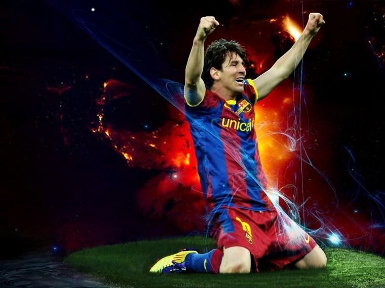 Lionel Messi resmi