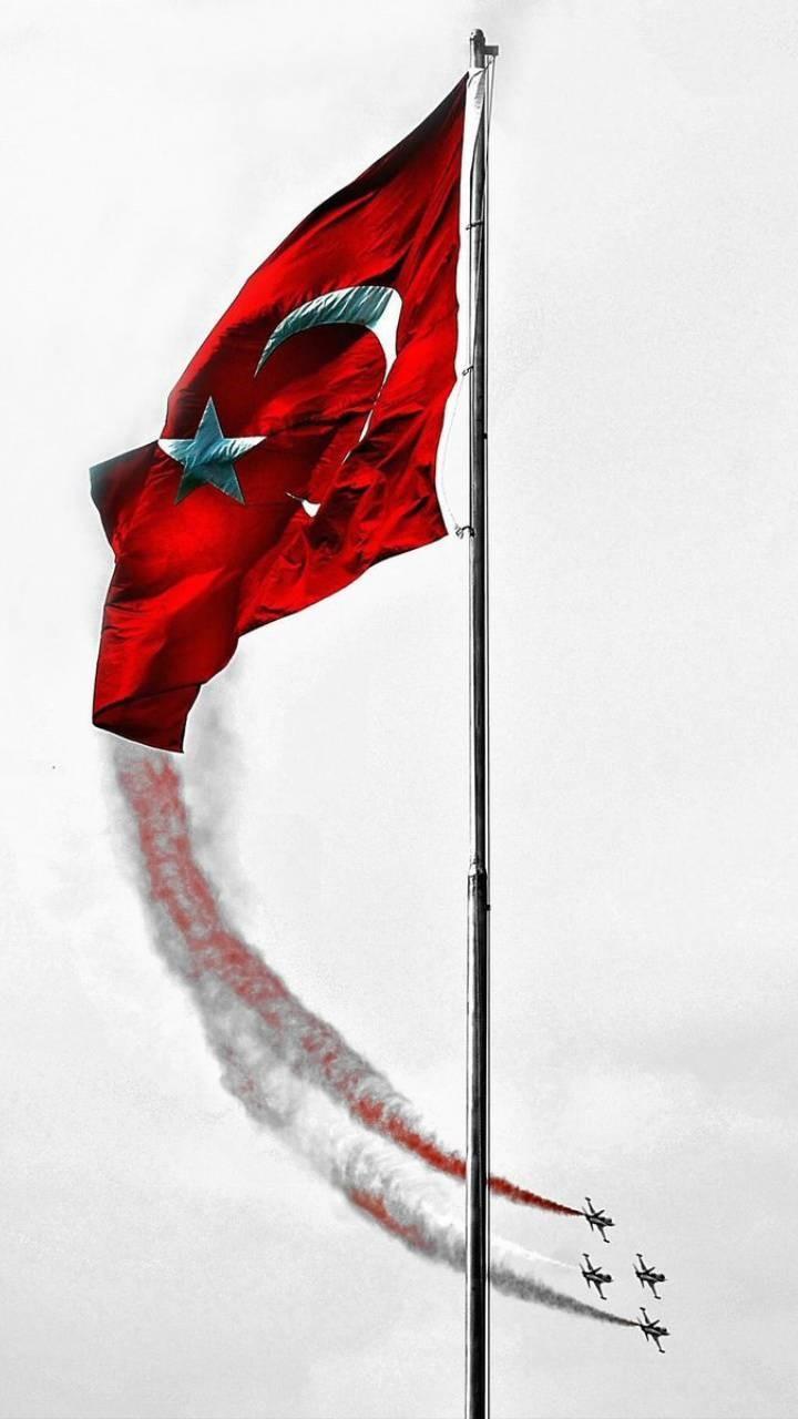Türk Bayrağı 1080p wallpaper