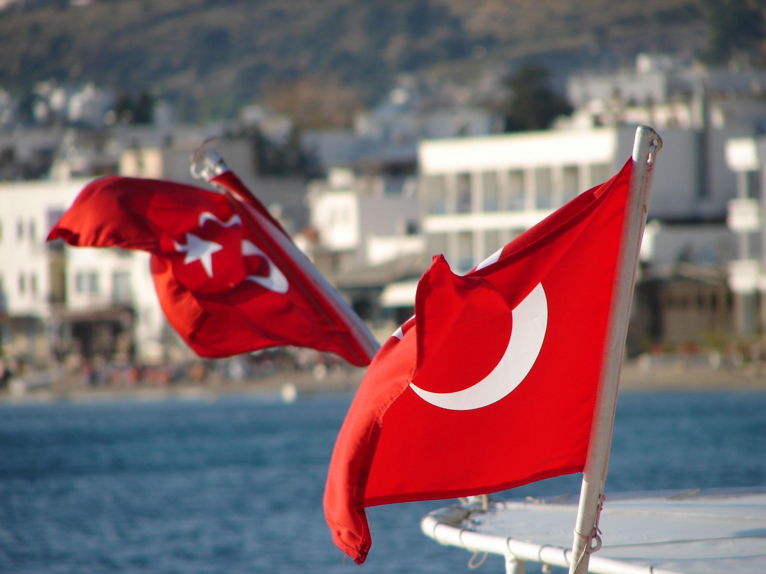 Türk Bayrağı 4k duvarkağıdı