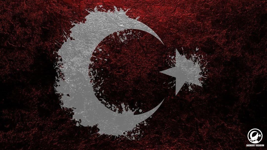 Türk Bayrağı 8k görseller
