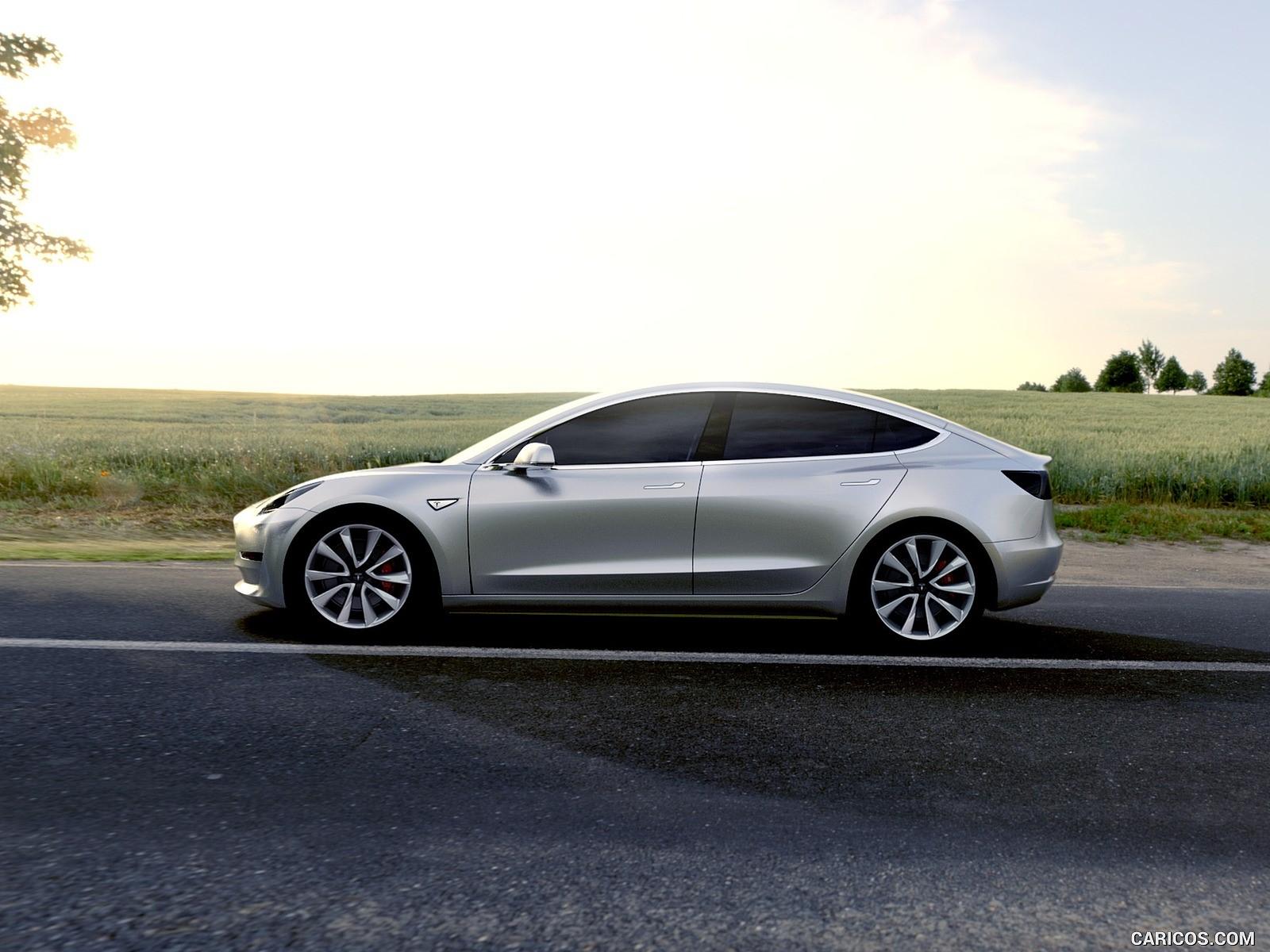Tesla Model 3 duvarkağıdı