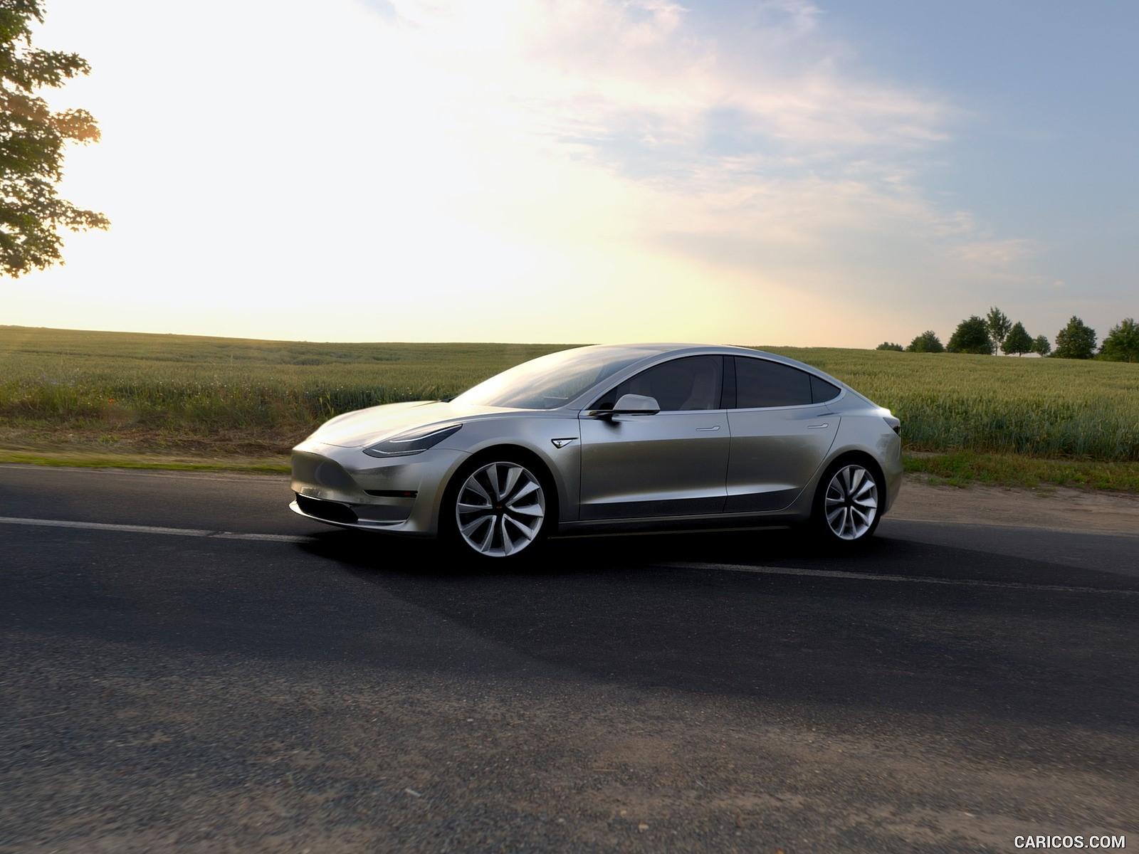 Tesla Model 3 duvarkağıtları