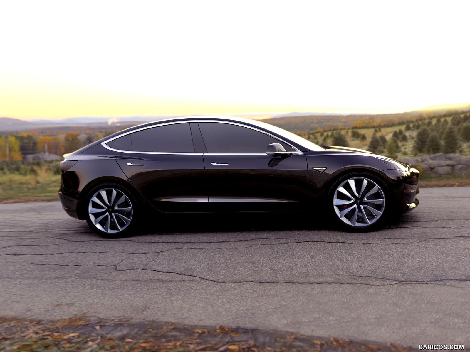 Tesla Model 3 fotoğrafları