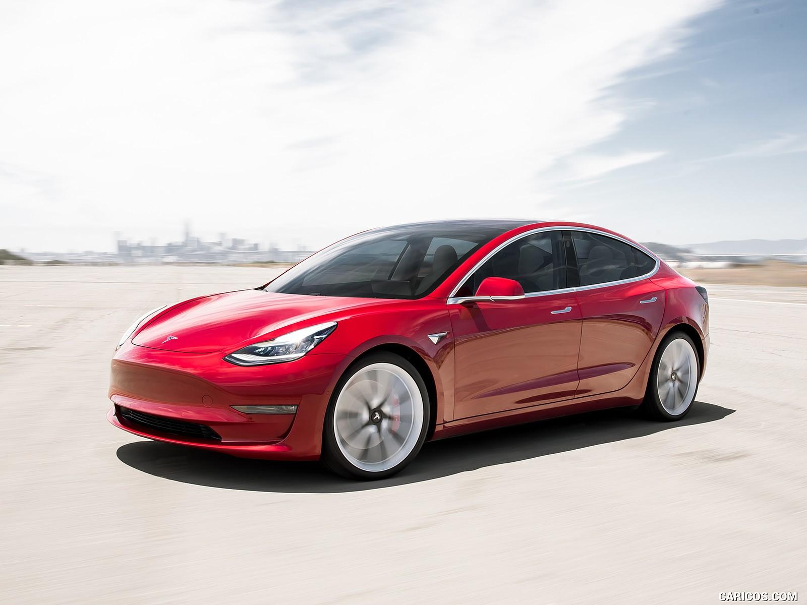Tesla Model 3 hd duvarkağıdı
