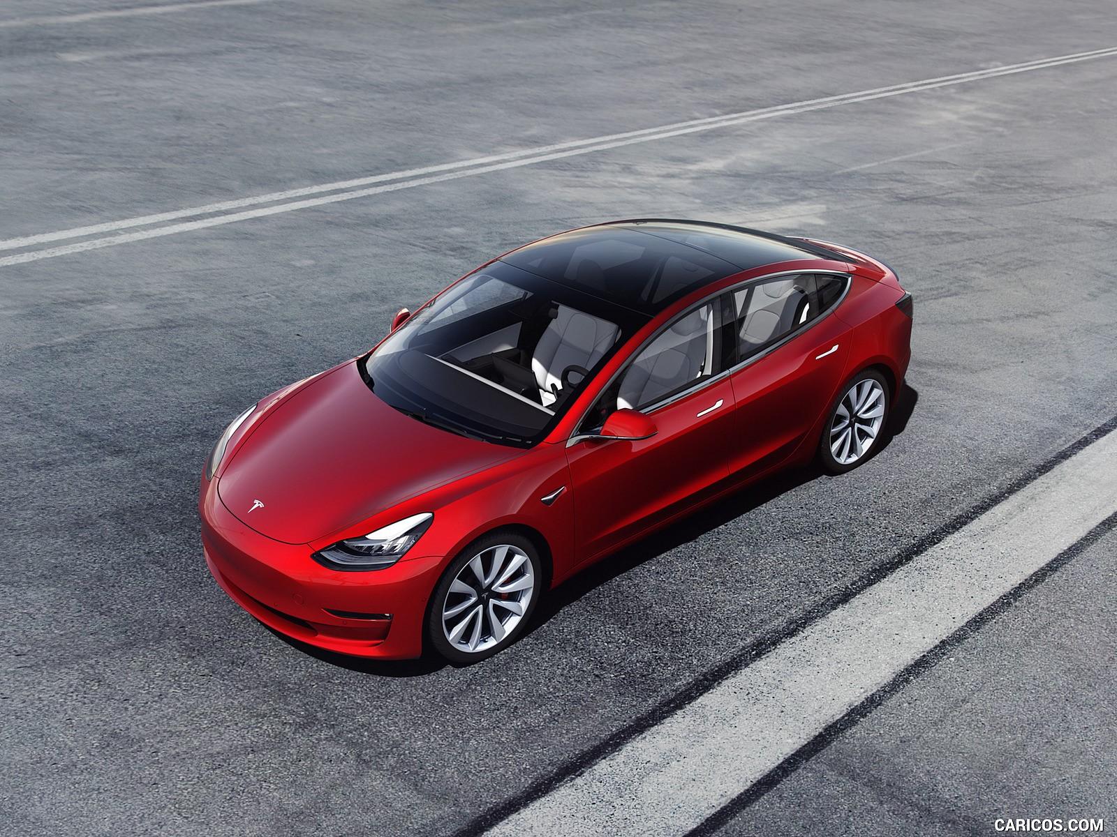 Tesla Model 3 hd foto