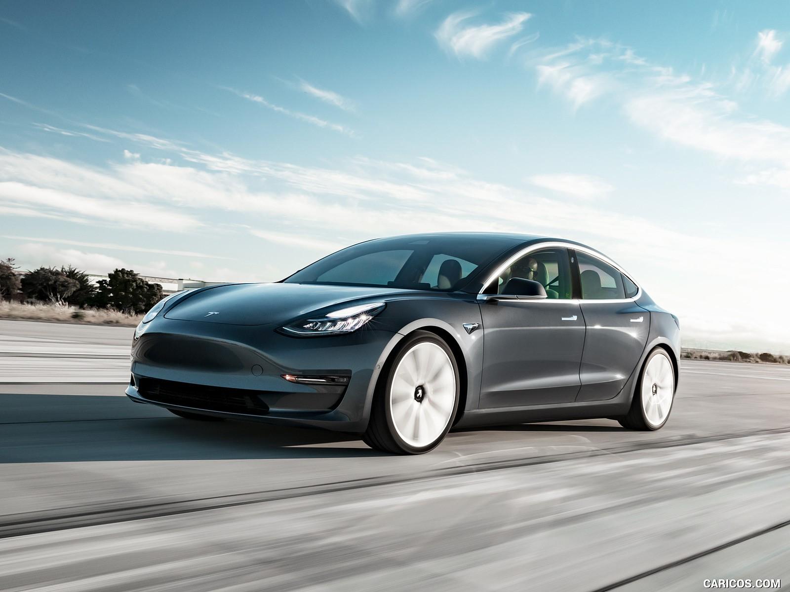 Tesla Model 3 hd wallpaper