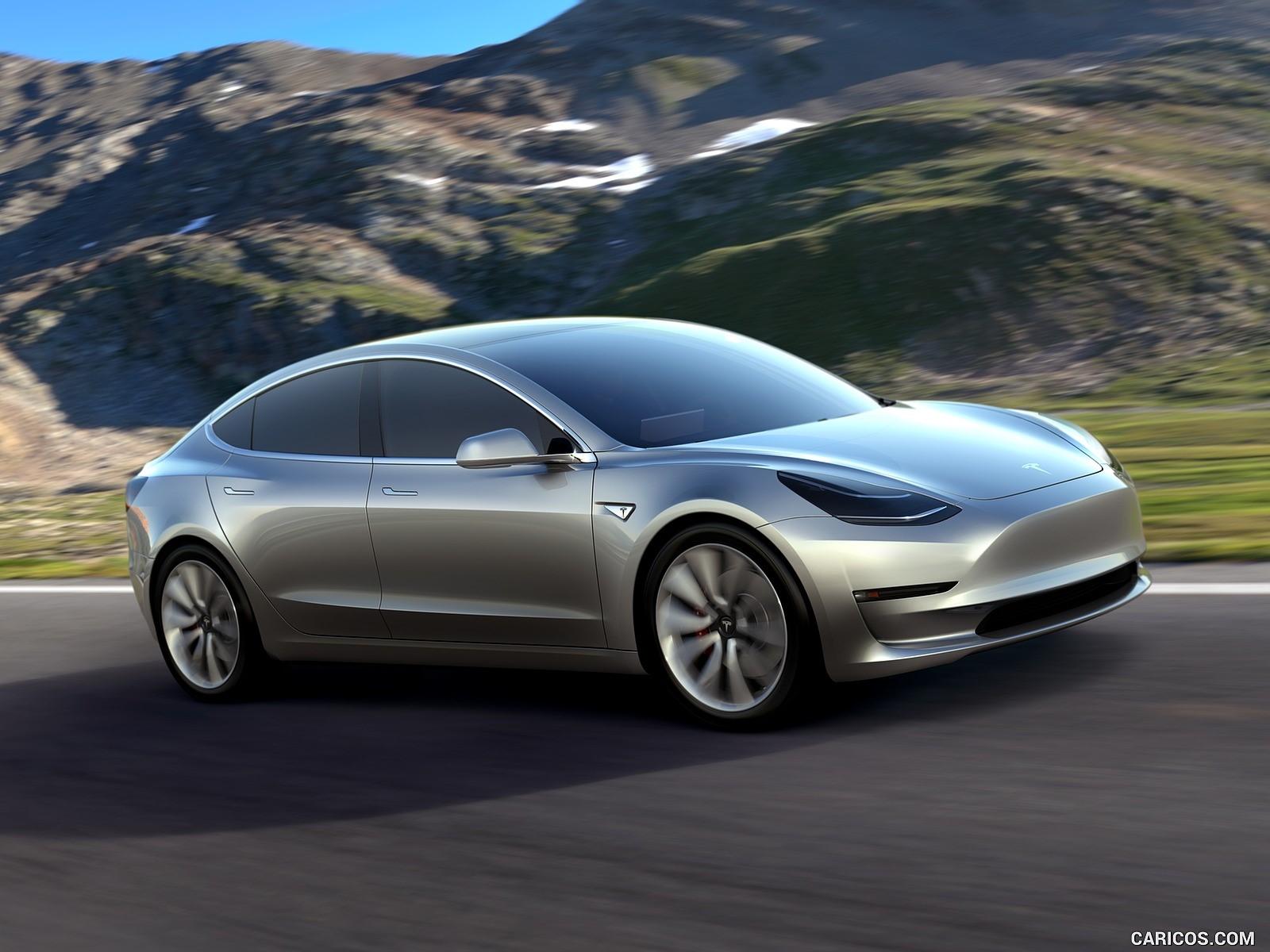 Tesla Model 3 resimleri