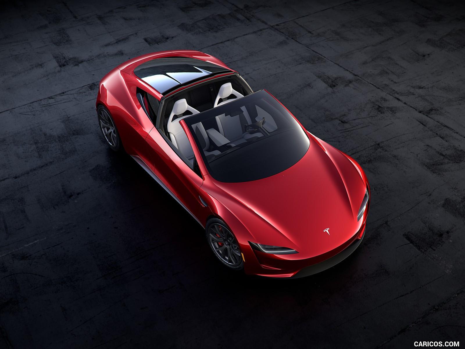 Tesla Roadster hd duvarkağıdı