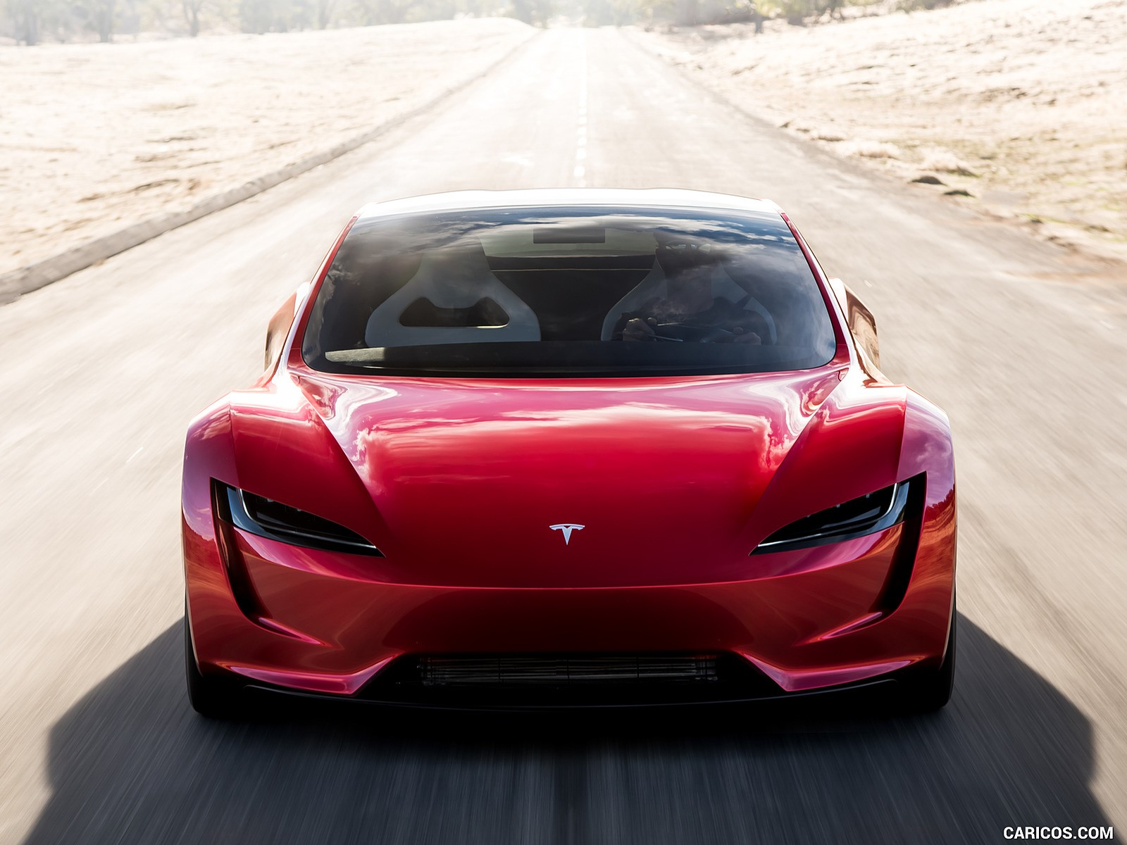 Tesla Roadster resimleri