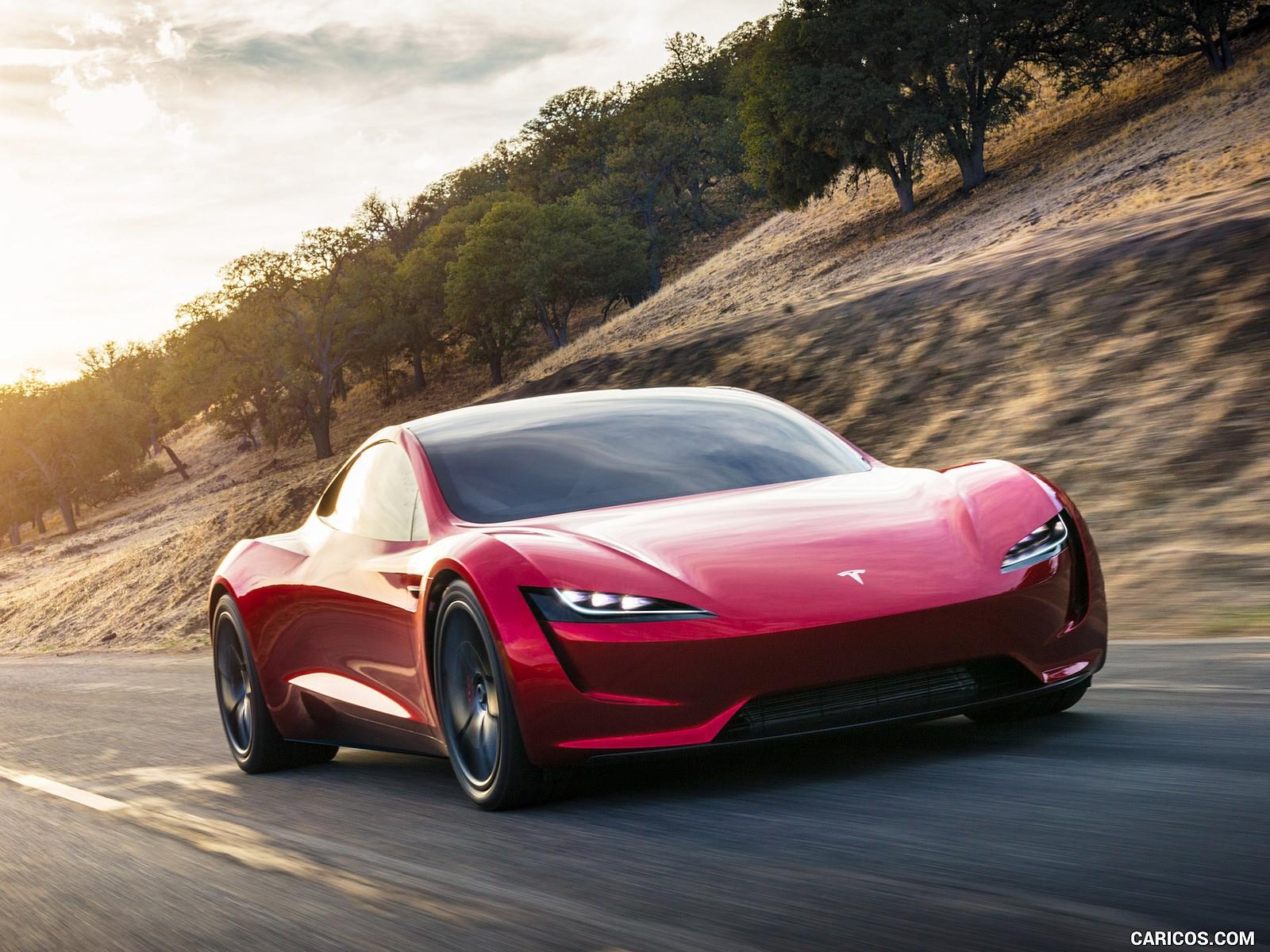 Tesla Roadster wallpaper