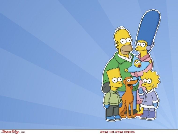 The Simpsons Yılbaşı 1080p wallpaper