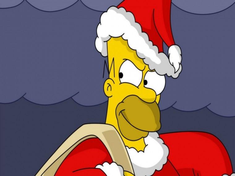 The Simpsons Yılbaşı 720p wallpaper