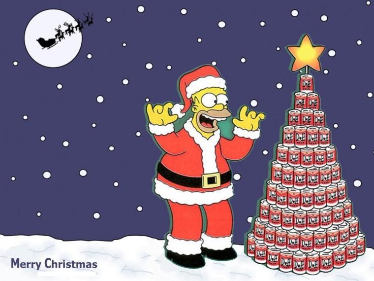 The Simpsons Yılbaşı foto