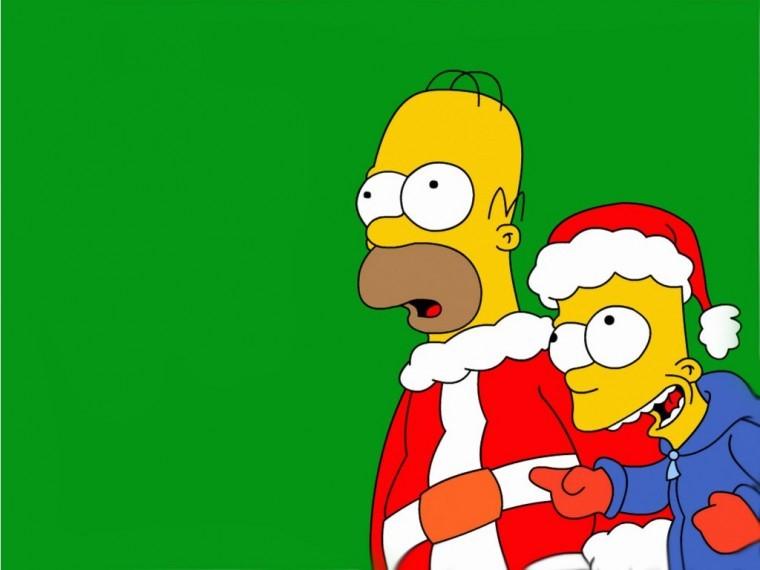 The Simpsons Yılbaşı wallpapers