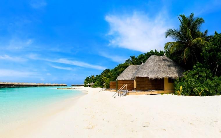 Tropikal Ada 720p duvarkağıdı