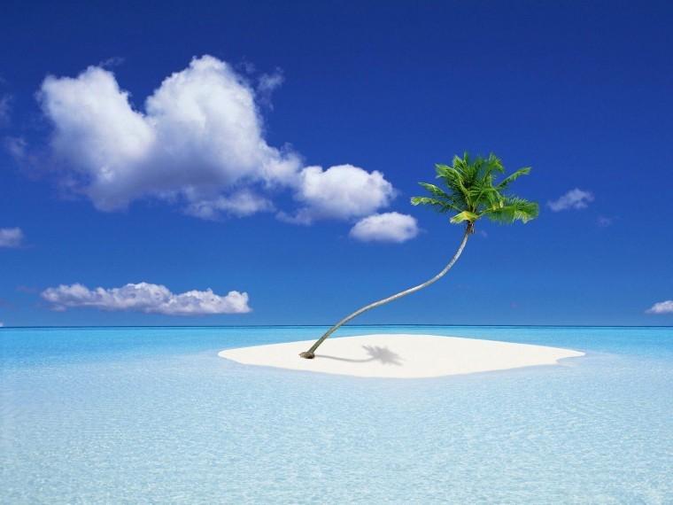 Tropikal Ada duvarkağıdı