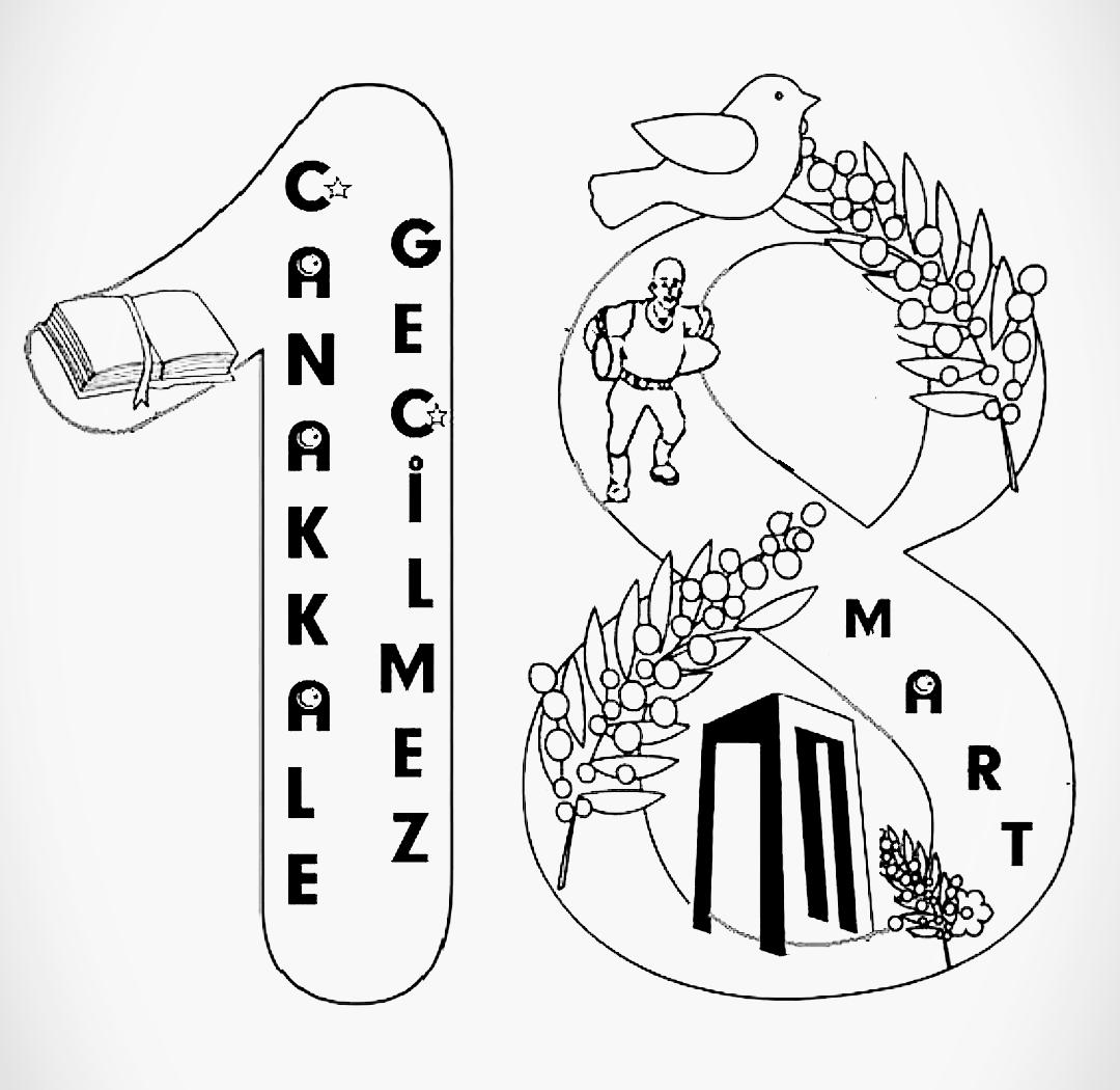 19 Mart Çanakkale Boyama