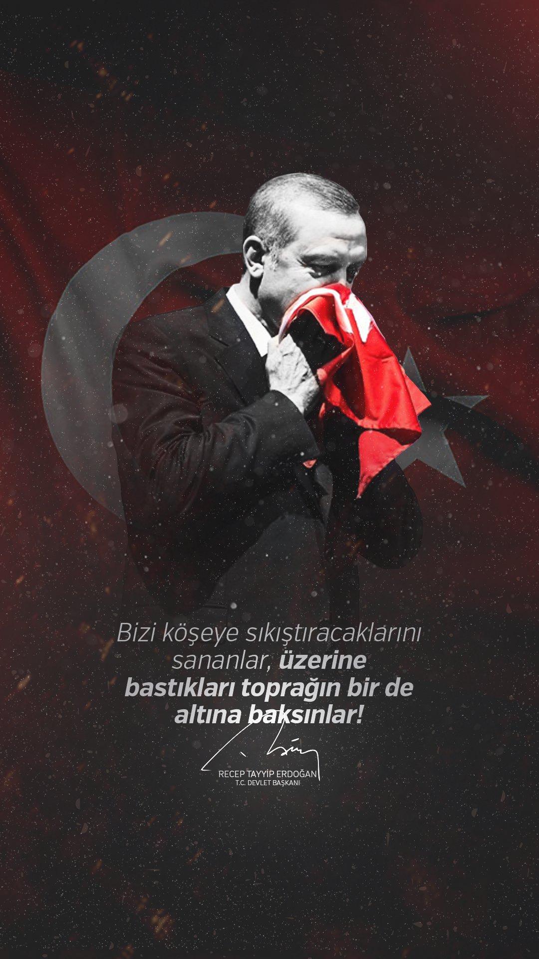 Recep Tayyip Erdoğan Mobil Arka Plan