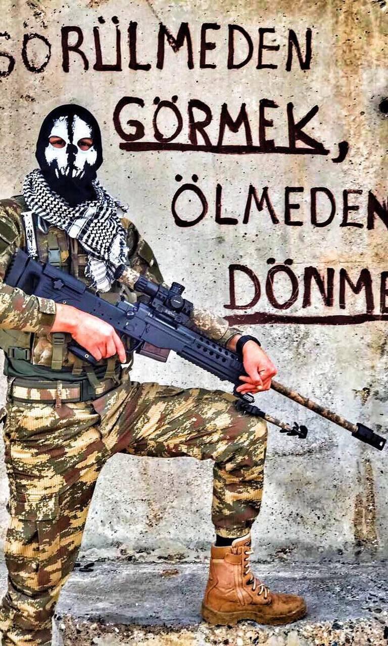 Türk Askeri Arka Plan resim