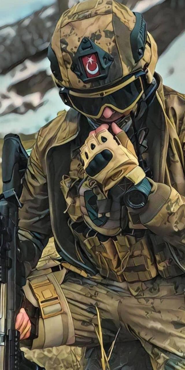 Türk Askeri iPhone Arka Plan