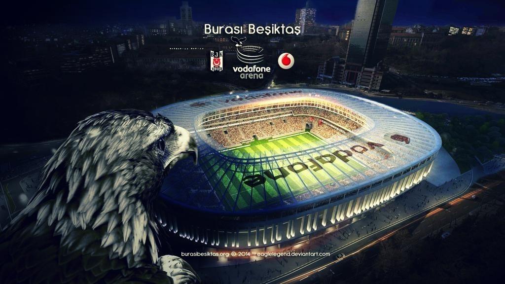 Beşiktaş Vodafone Park 4K Wallpaper
