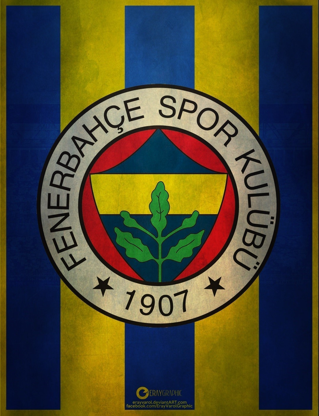 Fenerbahçe Bayrağı Resim