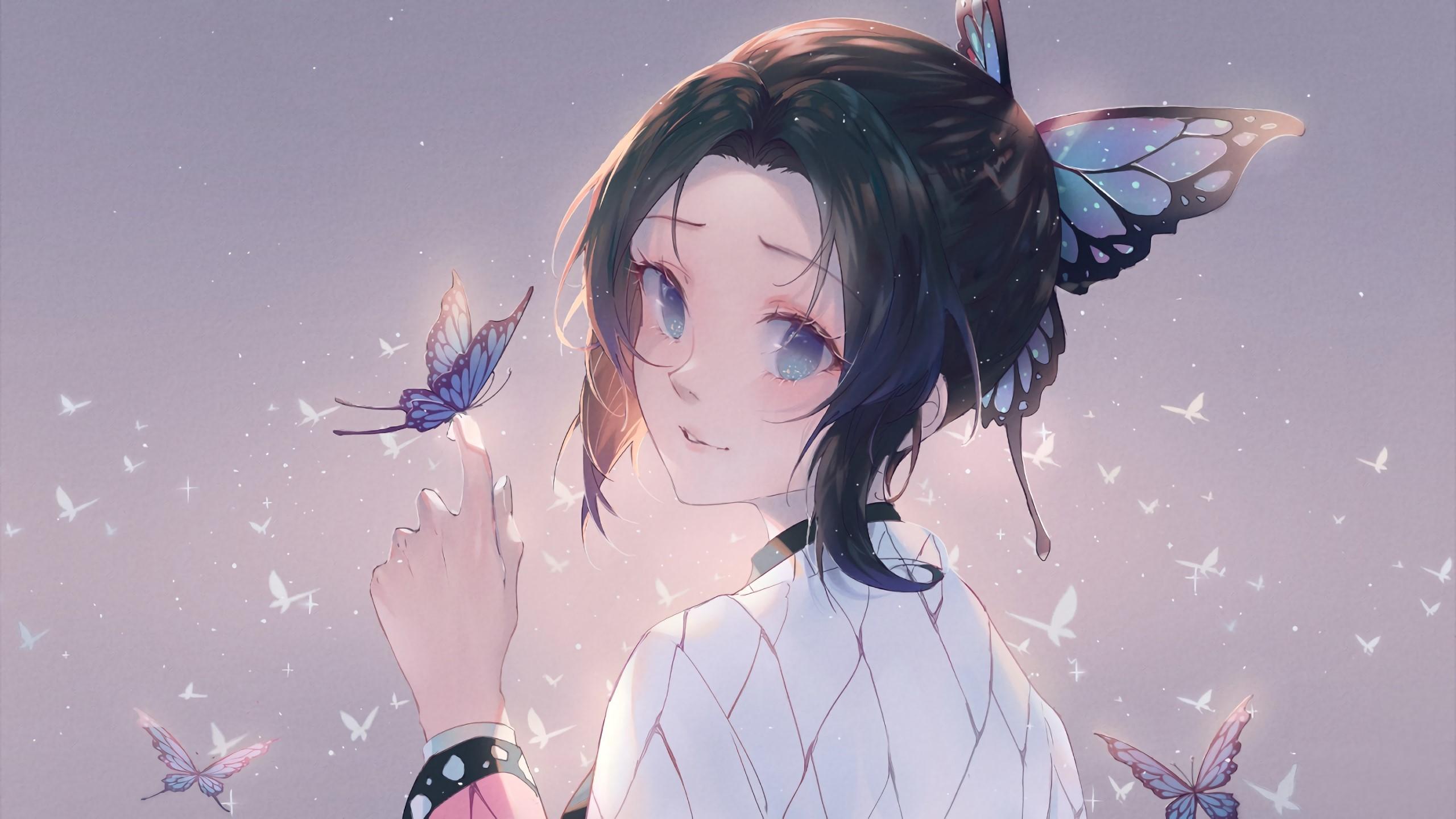 Shinobu Kocho Anime Wallpaper