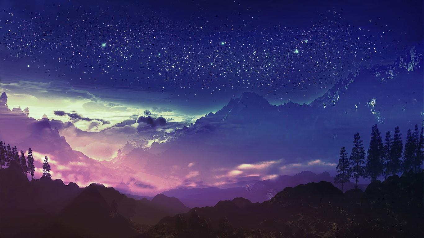 Stars Art HD Wallpaper